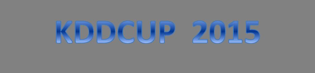 kddcup 2015