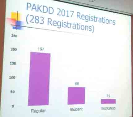 The PAKDD 2017 conference (a brief report) - The Data Mining