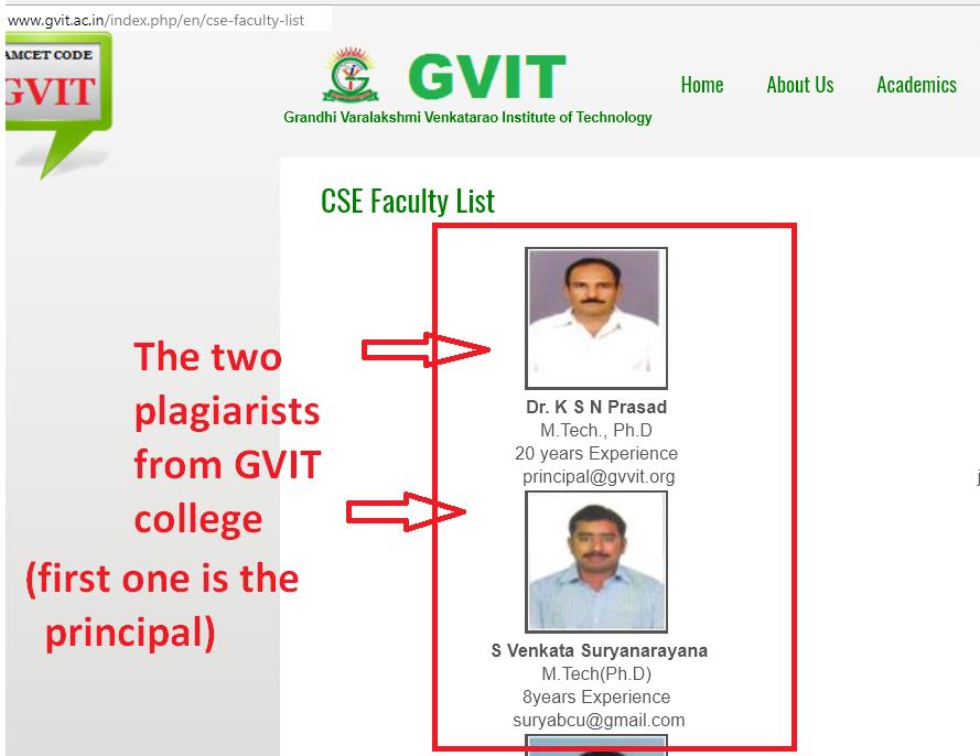 GVIT College, Bhimavaram.