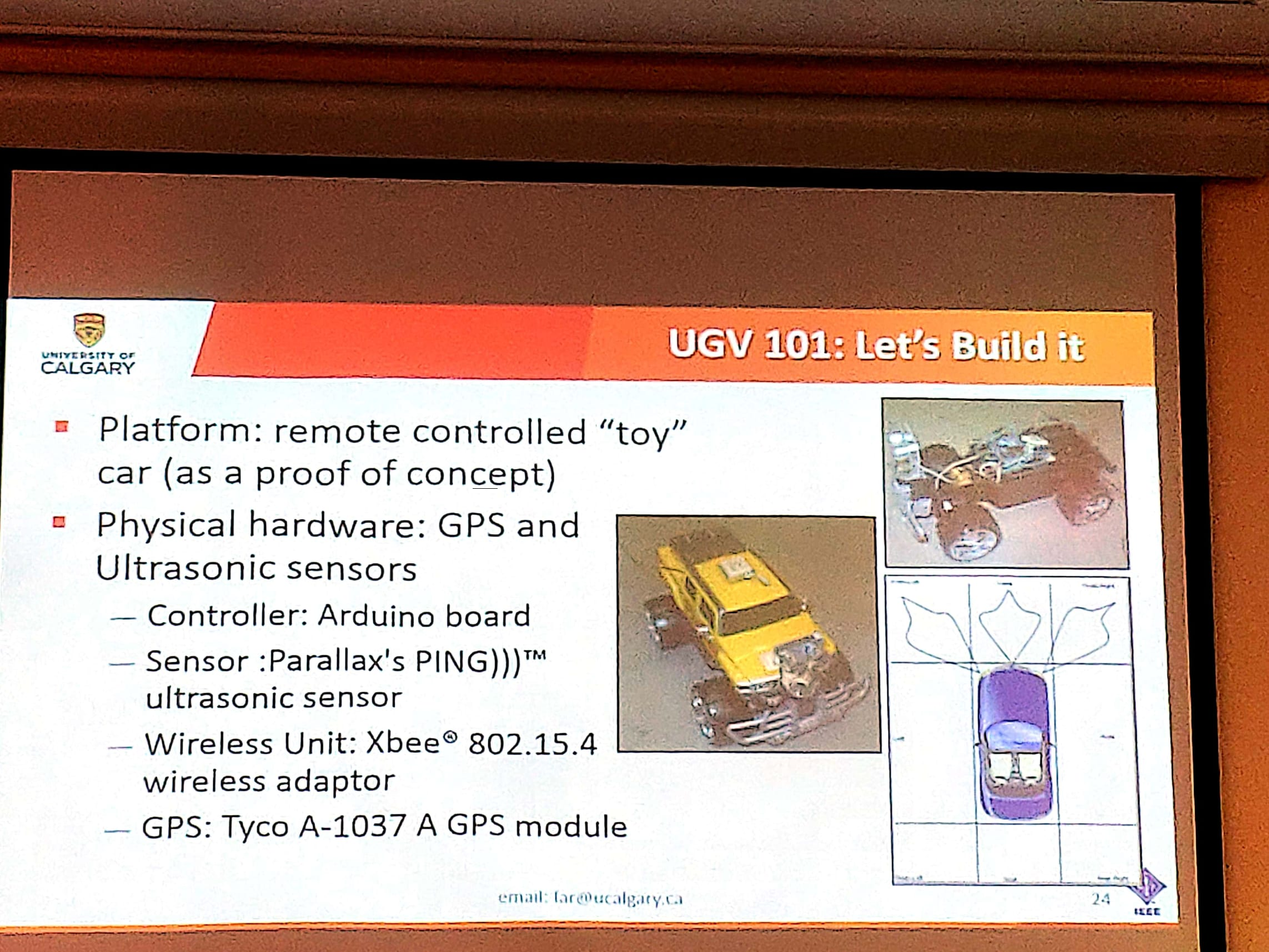 UGV example