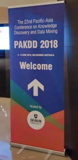 PAKDD 2018 welcome