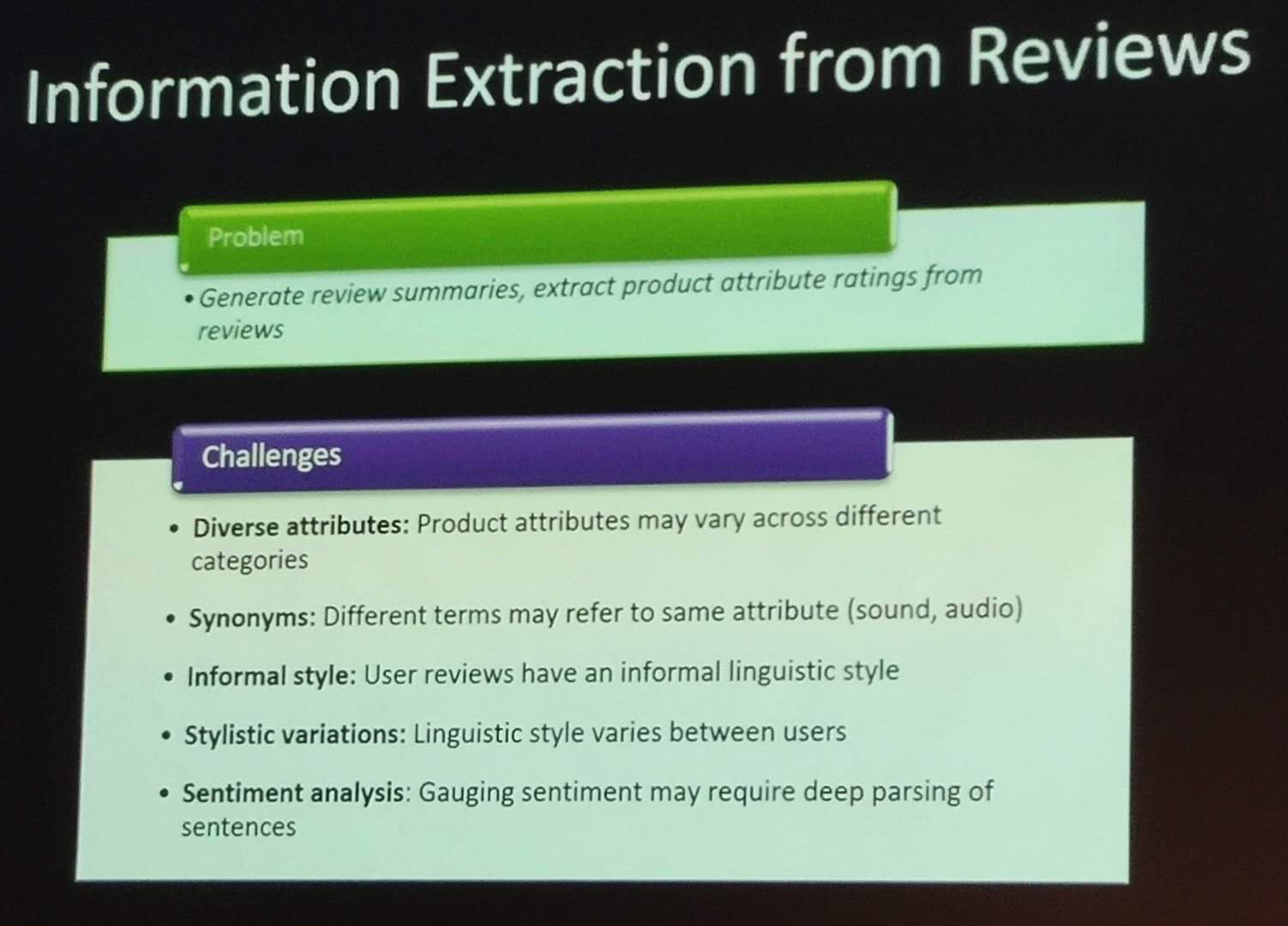 pakdd information extraction amazon