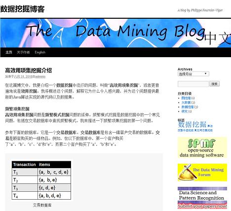 chinese data mining