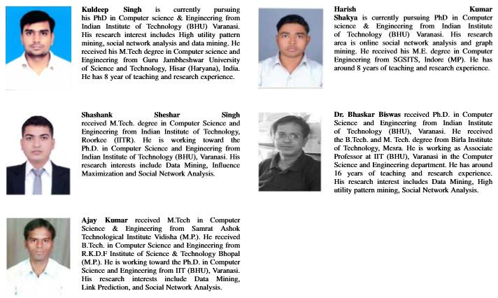 Kuldeep Singh, Shashank Sheshar Singh, Ajay Kumar, and Bhaskar Biswas
