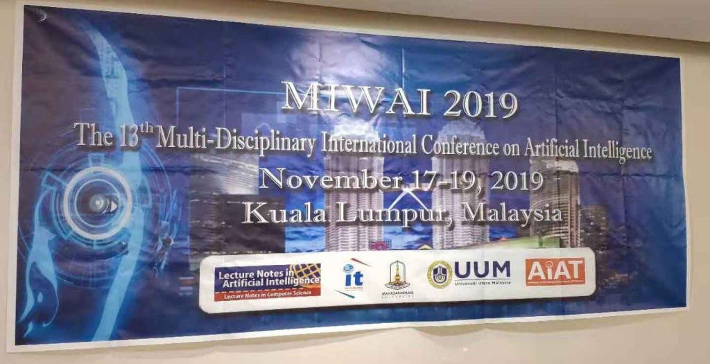 MIWAI 2019 conference banner