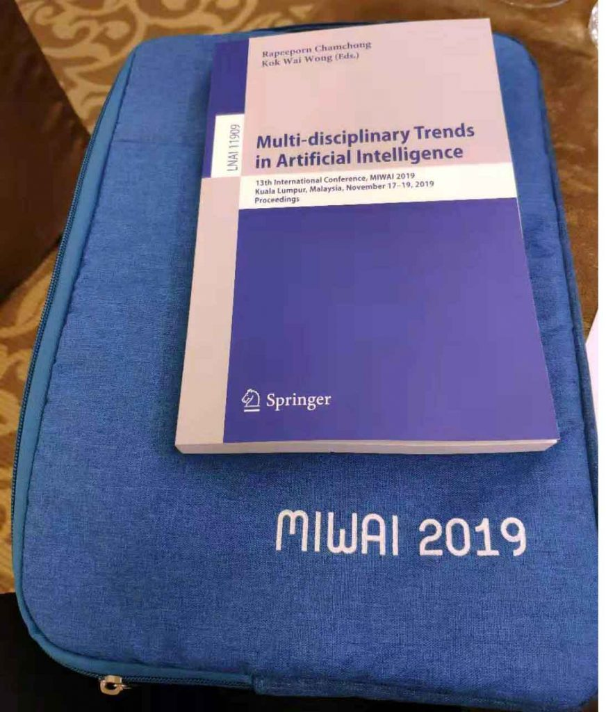 MIWAI 2019 conference proceedings