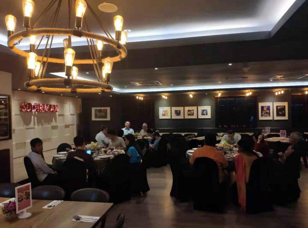 MIWAI 2019 conference banquet