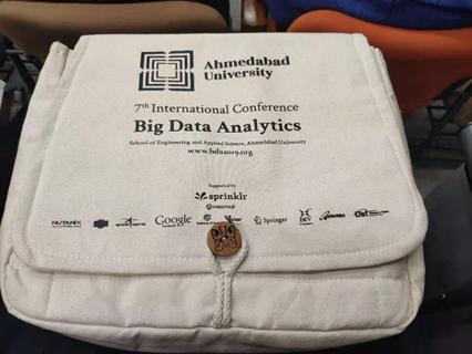 bda conference bag