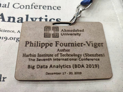 bda conference badge