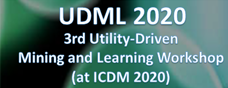 UDML 2020: Utility Driven-Mining Workshop