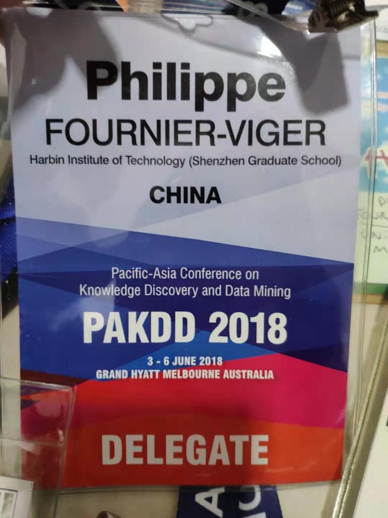 pakdd 2018 conference badge