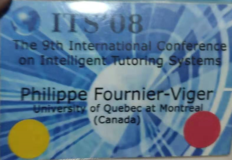 its 2008 conference badge