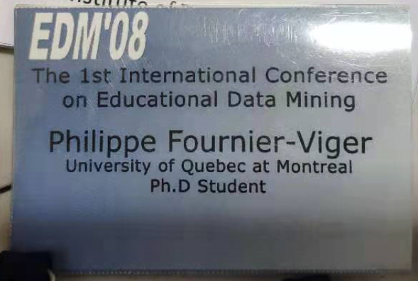 educational data mining 2008 conference