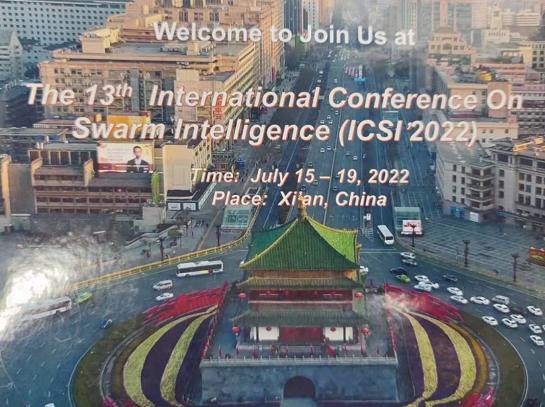 icsi 2022 swarm intelligence conference